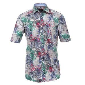 CasaModa Kurzarmhemd mit floralem Druck