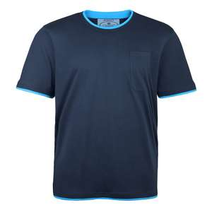 Redfield blaues Double Layer T-Shirt