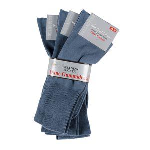 3er Pack Gesundheitssocke jeansblau Wowerat