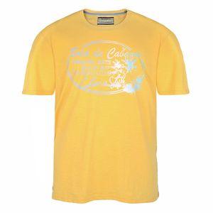 Redfield gelbes T-Shirt mit sommerlichem Print