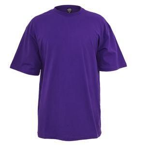 XXL T-Shirt lila Überlänge von Urban Classics