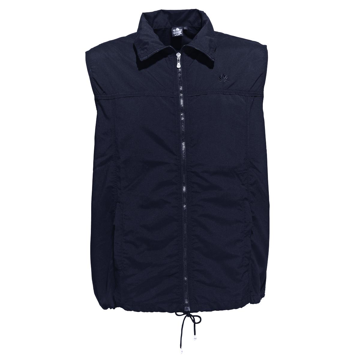 Ahorn Sportswear leichte Weste dunkelblau /Übergr/ö/ße