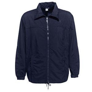 XXL Ahorn Sportswear leichte Trainingsjacke dunkelblau