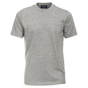 CasaModa grau meliertes Basic T-Shirt