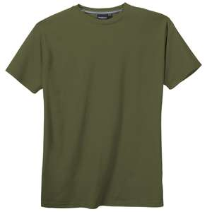 XXL North 56°4 by Allsize Basic T-Shirt olivgrün