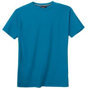 XXL North 56°4 by Allsize blaues Basic T-Shirt