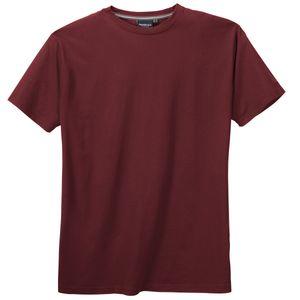 XXL North 56°4 by Allsize Basic T-Shirt bordeaux