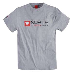 North 56°4 by Allsize bedrucktes T-Shirt grau