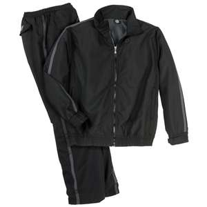 Trainingsanzug Ahorn Sportswear schwarz Donald