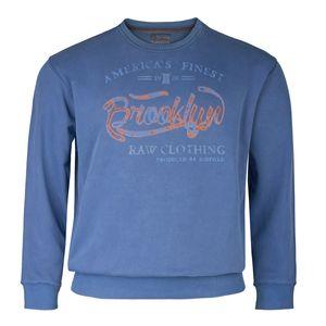 Redfield Übergrößen Vintage Sweatshirt denimblau