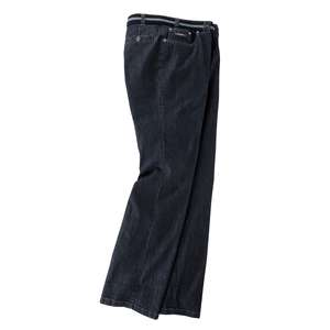 Luigi Morini XXL Stretchjeans dark denimblue