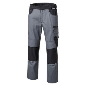 XXL Pionier Workwear Bundhose grau/schwarz