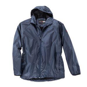 Abraxas leichte XXL Regenjacke blau