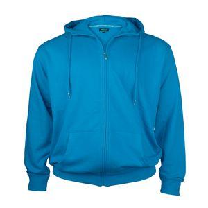 Redfield Kapuzen-Sweatjacke aquablau Übergröße