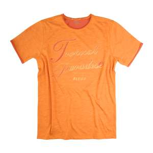 XXL Camel Active Print T-Shirt orange meliert