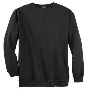 Adamo Fashion schwarzes Sweatshirt Übergröße