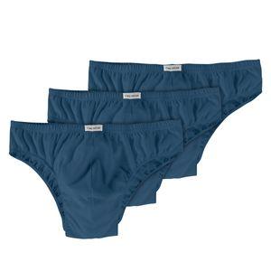 Slips Herren  3er Pack blau Ceceba Übergröße