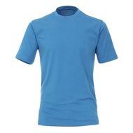 Casa Moda Basic T-Shirt große Größen azurblau 001