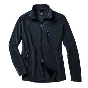 First B Fleecejacke Emir in midnight navy Übergröße