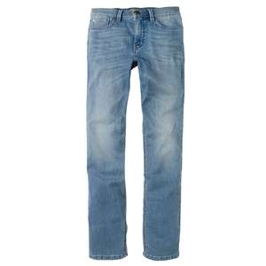 XXL Paddock´s Stretchjeans Ranger blue bleached used