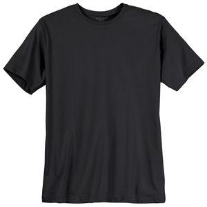 T-Shirt Herren schwarz Redfield Übergröße