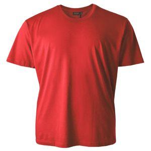 T-Shirt Tom große Größe hellrot Redfield