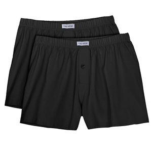 Ceceba 2er Pack Boxershorts schwarz