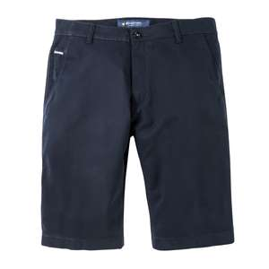 Pionier Stretch-Shorts Luca in navy Übergröße