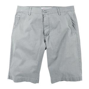 Pionier Stretch-Shorts Luca in grau Übergröße