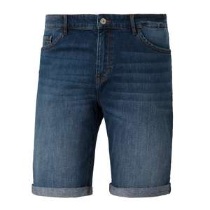 Redpoint XXL Stretch-Shorts Denim dark blue used