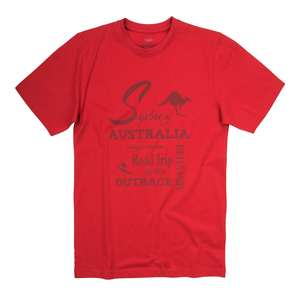 CasaModa bedrucktes T-Shirt rot Übergröße