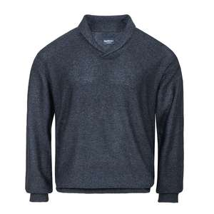 North 56°4 by Allsize blau melierter Strickpulli XXL
