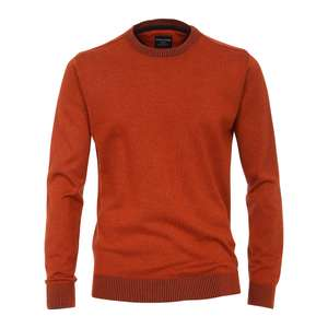 CasaModa Strickpullover orange meliert XXL