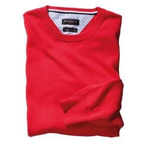 Redfield Feinstrick Pullover Übergröße in rot