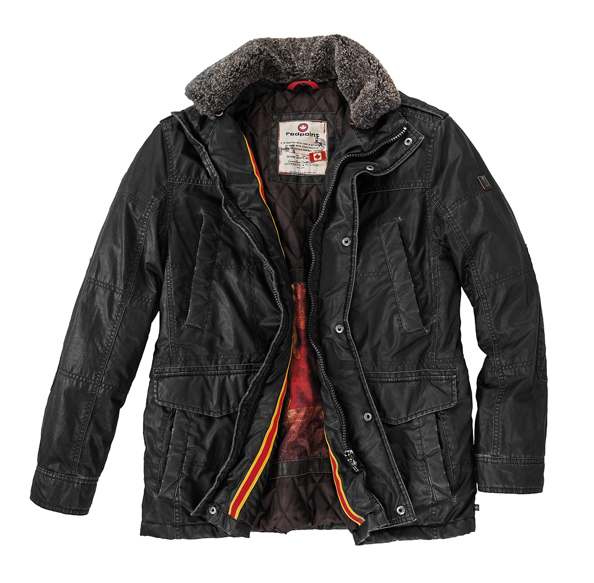 best loved a4b58 0430a Redpoint Übergangsjacke Bud in schwarz