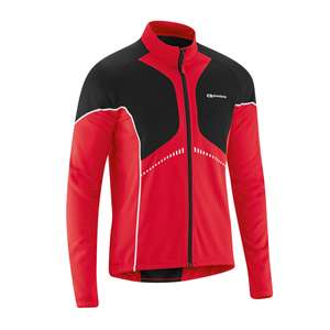 XXL Gonso Thermo Radtrikot Dominik in rot
