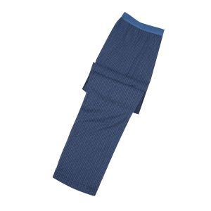Jockey XXL lange Pyjamahose navy-blau gestreift