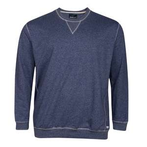 XXL North 56°4 by Allsize blau melange Sweatshirt