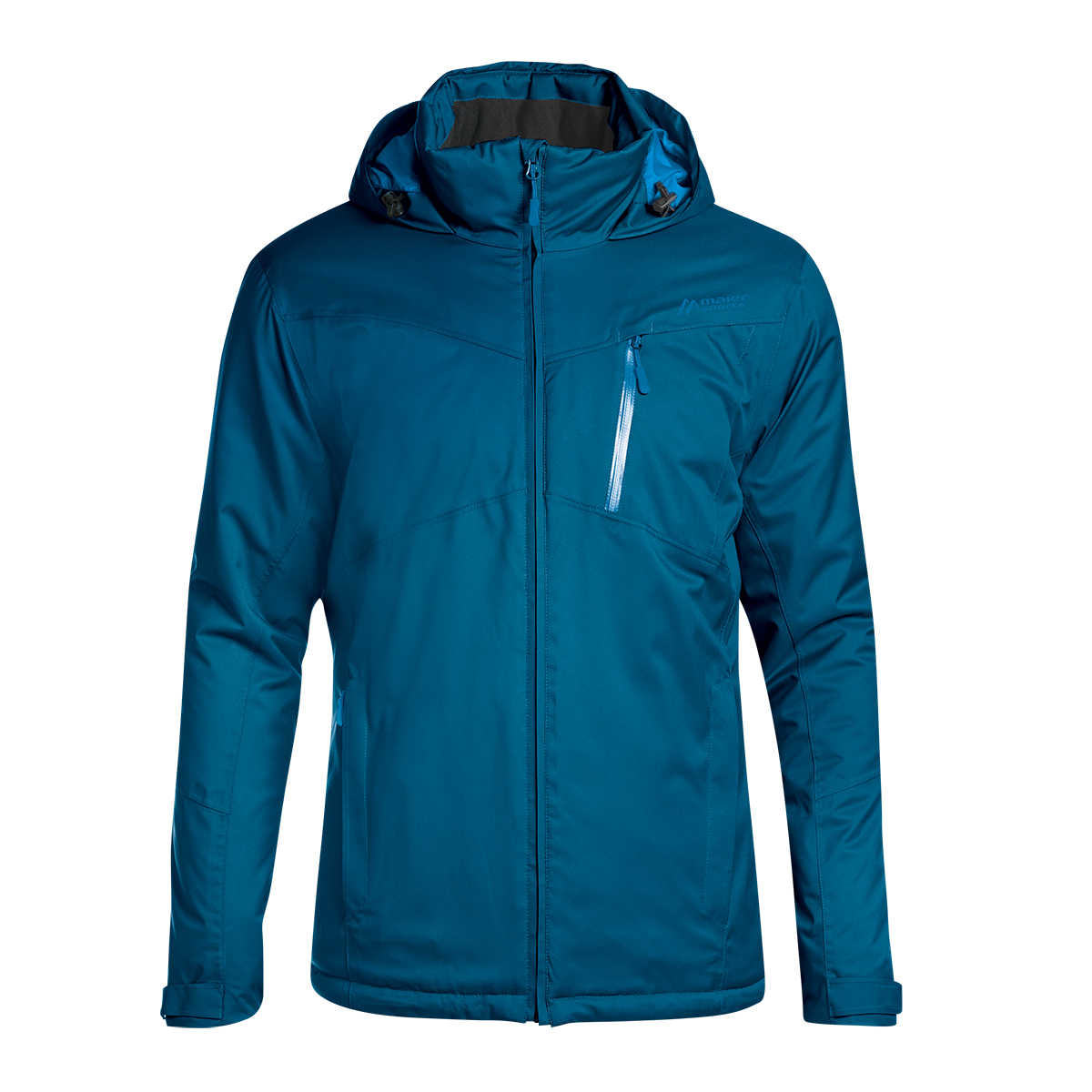 Luxus-Ästhetik Neuankömmlinge doppelter gutschein Maier Sports Multifunktions-Jacke in türkisblau