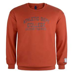 Sweatshirt orange Athletic Dept.von Daves
