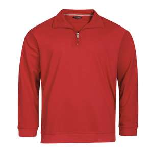 Redfield Troyer-Sweatshirt hibiscusrot XXL