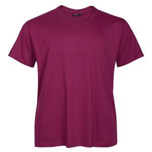 Redfield Basic T-Shirt brombeer Übergröße