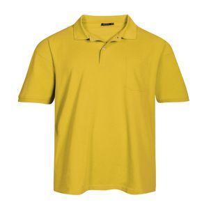 Redfield Piqué Poloshirt sonnengelb Übergröße