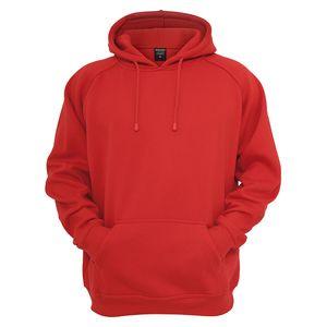 XXL Urban Classics Kapuzen-Sweatshirt in rot