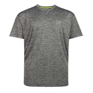 "XXL Allsize T-Shirt ""Cool Effect"" anthrazit meliert"