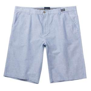 XXL North 56°4 Allsize Chino-Shorts hellblau meliert