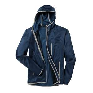 First B Fleecejacke Nevio blue nights melange XXL
