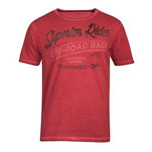 XXL Kitaro T-Shirt rot Vintage Druck Superior Rider