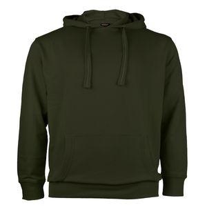 Redfield Kapuzen-Sweatshirt dunkeloliv Übergröße