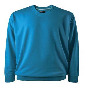 Redfield Basic Sweatshirt malibublau Übergröße